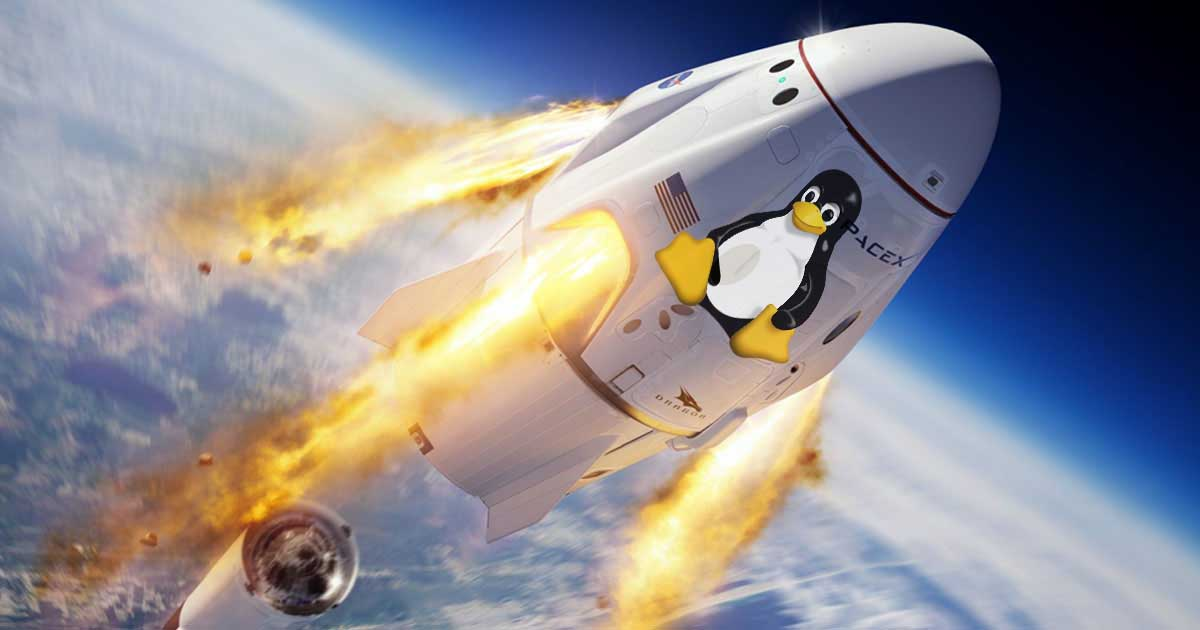 linux spacex